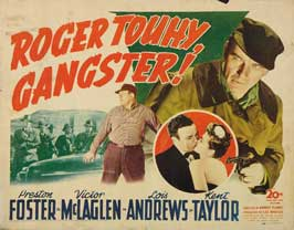 Roger Touhy, Gangster - 22 x 28 Movie Poster - Half Sheet Style A