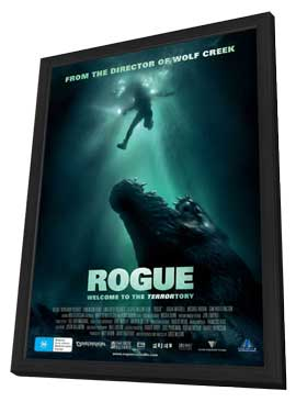 Rogue - 27 x 40 Movie Poster - Australian Style A - in Deluxe Wood Frame