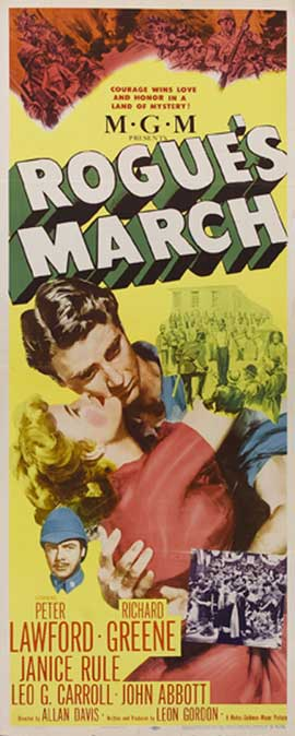 Rogues March - 14 x 36 Movie Poster - Insert Style A