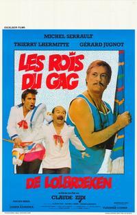 Rois du gag, Les - 27 x 40 Movie Poster - Belgian Style A