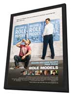 Role Models - 11 x 17 Movie Poster - Style A - in Deluxe Wood Frame