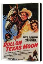 Roll on Texas Moon - 27 x 40 Movie Poster - Style A - Museum Wrapped Canvas