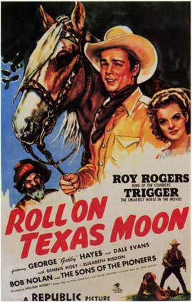 Roll on Texas Moon - 11 x 17 Movie Poster - Style A