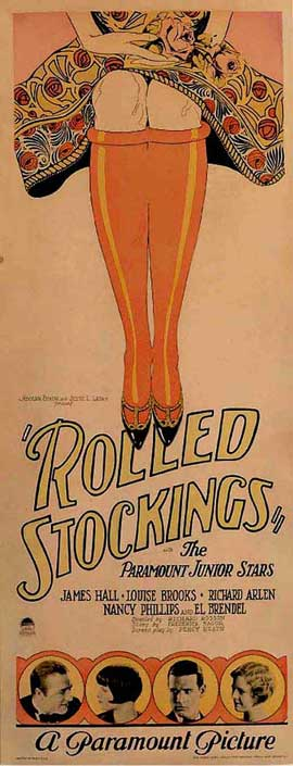 Rolled Stockings - 14 x 36 Movie Poster - Insert Style A