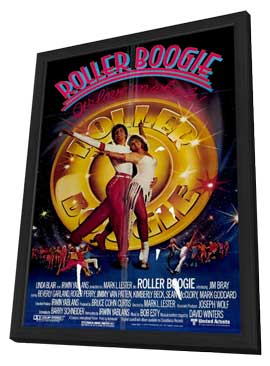 Roller Boogie - 11 x 17 Movie Poster - Style A - in Deluxe Wood Frame