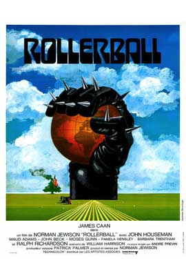 Rollerball - 27 x 40 Movie Poster - French Style A