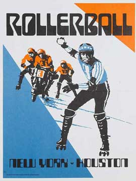 Rollerball - 11 x 17 Movie Poster - Style G