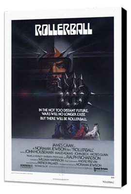 Rollerball - 27 x 40 Movie Poster - Style A - Museum Wrapped Canvas