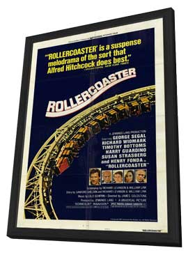 Rollercoaster - 11 x 17 Movie Poster - Style A - in Deluxe Wood Frame