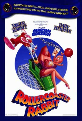 Rollercoaster Rabbit - 11 x 17 Movie Poster - Style A