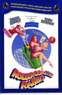 Rollercoaster Rabbit - 43 x 62 Movie Poster - Bus Shelter Style A