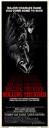 Rolling Thunder - 14 x 36 Movie Poster - Insert Style A