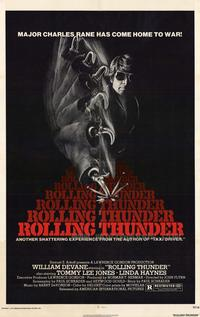 Rolling Thunder - 43 x 62 Movie Poster - Bus Shelter Style A