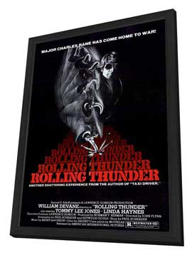 Rolling Thunder - 27 x 40 Movie Poster - Style A - in Deluxe Wood Frame