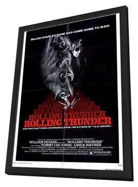 Rolling Thunder - 11 x 17 Movie Poster - Style A - in Deluxe Wood Frame