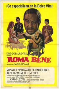 Roma bene - 11 x 17 Movie Poster - Spanish Style A