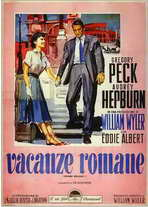 Roman Holiday - 11 x 17 Movie Poster - Italian Style A