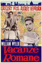 Roman Holiday - 27 x 40 Movie Poster - Italian Style A