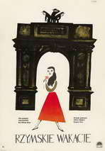 Roman Holiday - 11 x 17 Movie Poster - Polish Style A