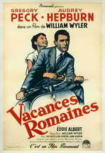 Roman Holiday - 11 x 17 Movie Poster - French Style B