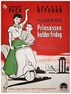Roman Holiday - 11 x 17 Movie Poster - Danish Style A