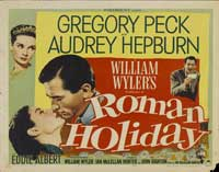 Roman Holiday - 22 x 28 Movie Poster - Half Sheet Style A