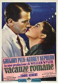 Roman Holiday - 27 x 40 Movie Poster - Italian Style B