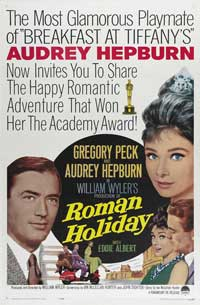 Roman Holiday - 43 x 62 Movie Poster - Bus Shelter Style C