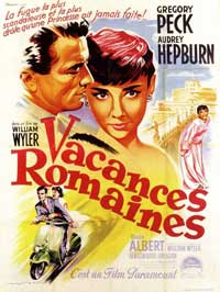 Roman Holiday - 11 x 17 Movie Poster - French Style A