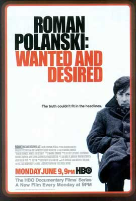 Roman Polanski: Wanted and Desired - 27 x 40 Movie Poster - Style A