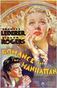 Romance in Manhattan - 27 x 40 Movie Poster - Style A