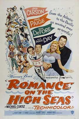 Romance on the High Seas - 11 x 17 Movie Poster - Style A