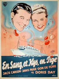 Romance on the High Seas - 11 x 17 Movie Poster - Danish Style A