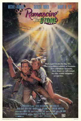 Romancing the Stone - 27 x 40 Movie Poster - Style A