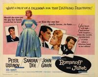 Romanoff and Juliet - 22 x 28 Movie Poster - Half Sheet Style A