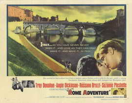 Rome Adventure - 11 x 14 Movie Poster - Style A
