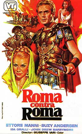 Rome Against Rome - 11 x 17 Movie Poster - Spanish Style A