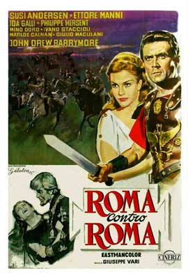 Rome Against Rome - 11 x 17 Movie Poster - Italian Style A