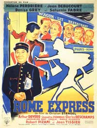 Rome Express - 11 x 17 Movie Poster - French Style A
