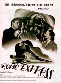 Rome Express - 43 x 62 Movie Poster - French Style A