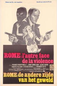 Rome: L'Autre Face de la Violence - 27 x 40 Movie Poster - Belgian Style A
