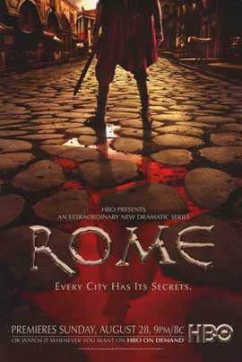 Rome - 11 x 17 TV Poster - Style F
