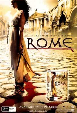Rome - 27 x 40 TV Poster - Australian Style D
