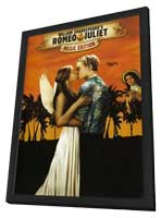 Romeo + Juliet - 27 x 40 Movie Poster - Style A - in Deluxe Wood Frame