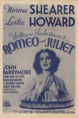 Romeo and Juliet - 11 x 17 Movie Poster - Style B