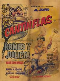Romeo and Juliet - 27 x 40 Movie Poster - Spanish Style A
