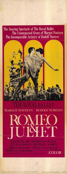 Romeo and Juliet - 14 x 36 Movie Poster - Insert Style A
