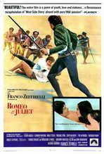 Romeo & Juliet - 27 x 40 Movie Poster - Style B