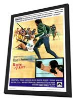 Romeo & Juliet - 27 x 40 Movie Poster - Style B - in Deluxe Wood Frame
