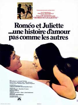 Romeo & Juliet - 11 x 17 Movie Poster - French Style A